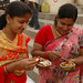 Enjoying an Afternoon Snack Together - Varanasi, India