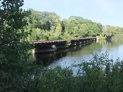 Abandoned railroad trestle, Appleton WI