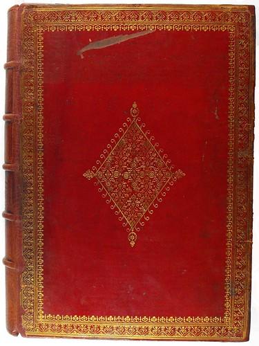 Harleian binding from Psalterium cum canticis