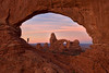 Arches National Park - Turret Arch Framed by the North Window by Stephen Oachs (ApertureAcademy.com)