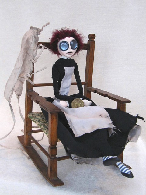 Rebecca Griffiths - Art Doll by Natasha Morgan 25