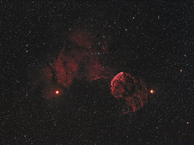 IC443, the Jellyfish nebula (take two) | Here's another ...