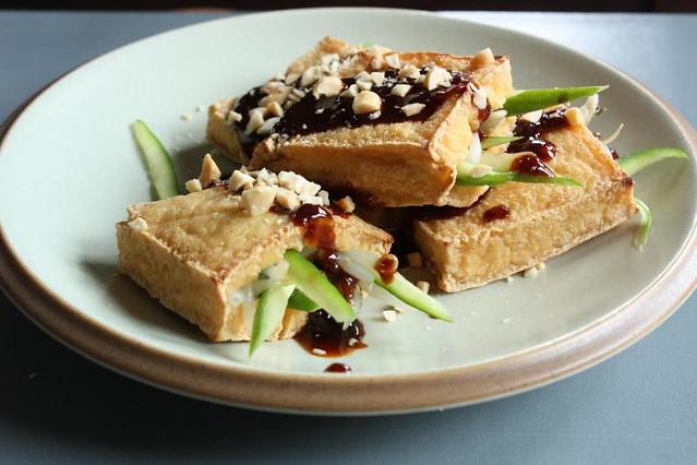 Grilled Crisp Tofu Pockets | Flickr - Photo Sharing!