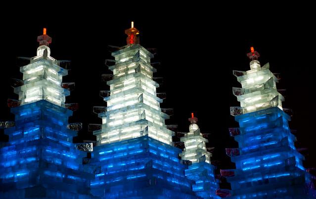 Ice Pagodas