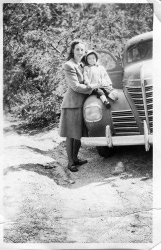 Vintage - Mother and Child