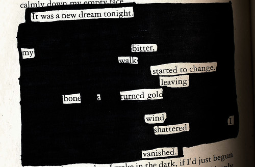 A New Dream - Blackout Poem #1