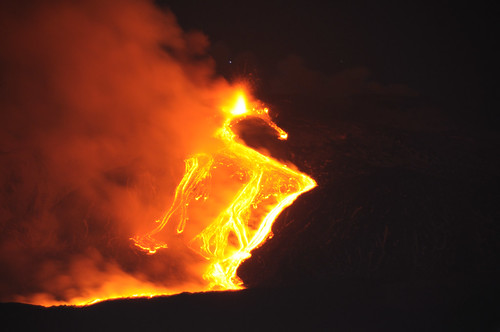 Etna Volcano Paroxysmal Eruption Jan 12 2011 - Creative Commons by gnuckx