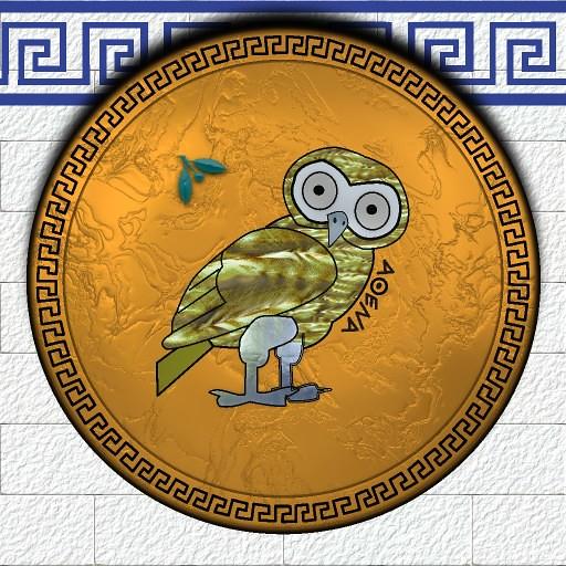 photoAncient Athenian Shield