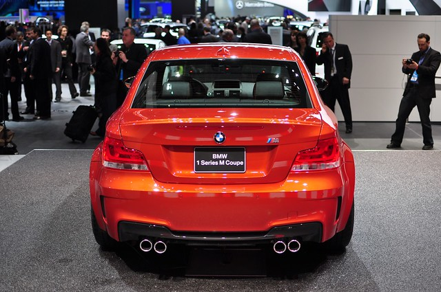 BMW 1 M Coupe - Rear