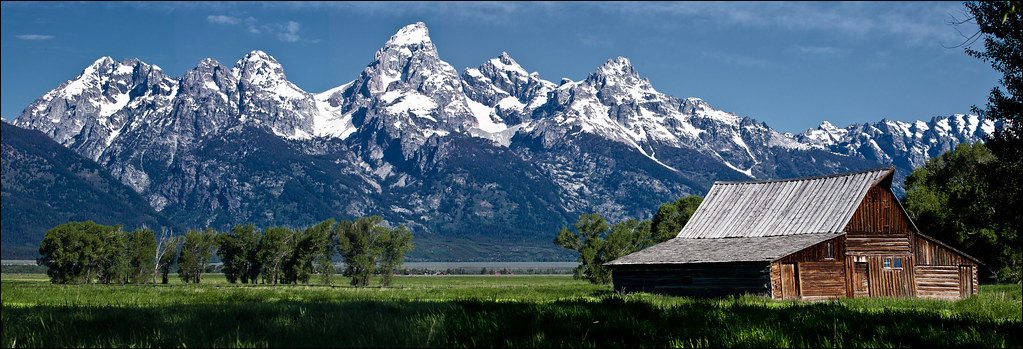 Barn, Mormon Row, Jackson Hole, Wyoming