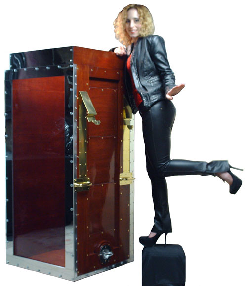 High Heels and Houdini's Chinese Water Torture Cell