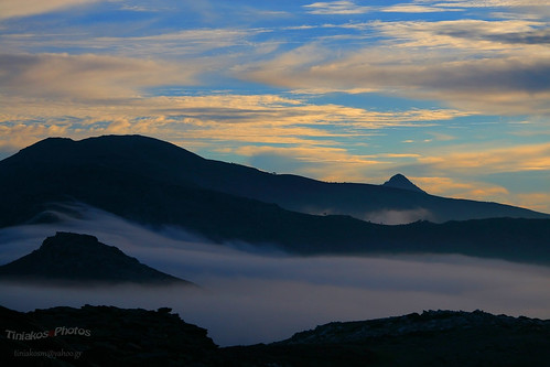 Ikaria fog by Tiniakos on Flickr