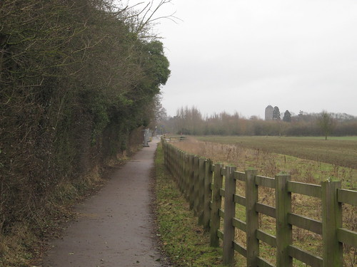 Path from Cambridge to Madingley