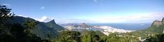 Tarde de outono, vista para o Rio