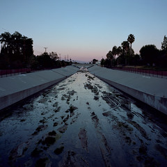los angeles river. canoga park, ca. 2016.