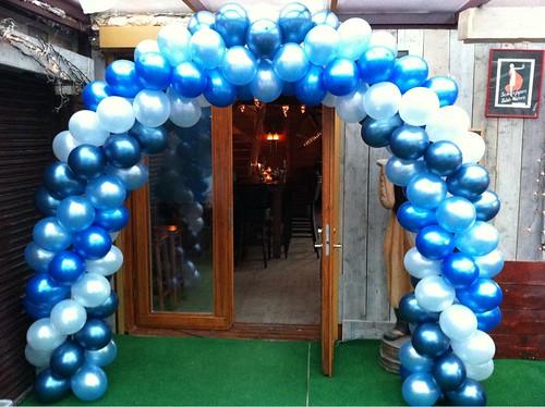 Ballonboog 6m Brasserie t Zonnetje Zevenhuizen