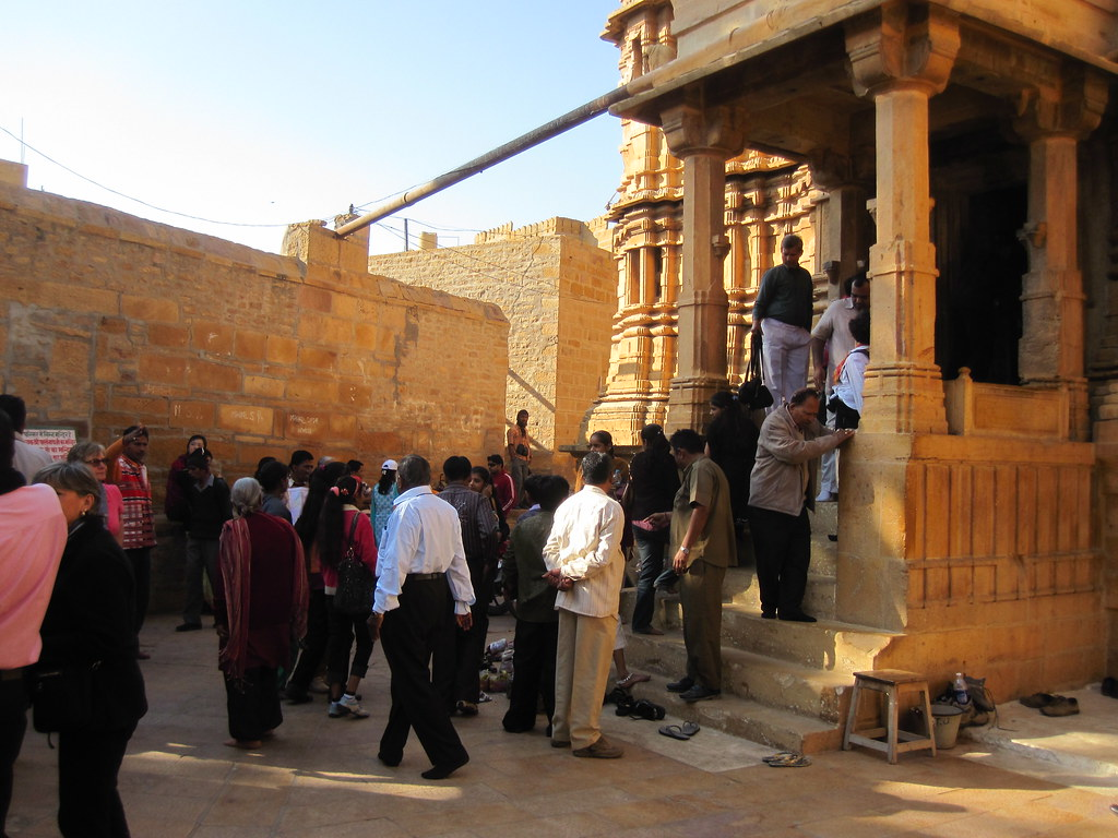 Crowd At Jain Temple - Udaipur, India