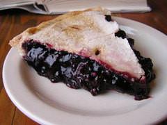 blackberry(0.0), breakfast(0.0), berry(0.0), plant(0.0), cranberry(0.0), meal(1.0), blueberry pie(1.0), blackberry pie(1.0), baked goods(1.0), produce(1.0), fruit(1.0), food(1.0), dish(1.0), cherry pie(1.0),