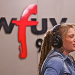 Ohio singer-songwriter (and American Idol runner-up) Crystal Bowersox in a live performance and interview at WFUV. Hosted by Rita Houston. Photo by Cynthia O'Connor.