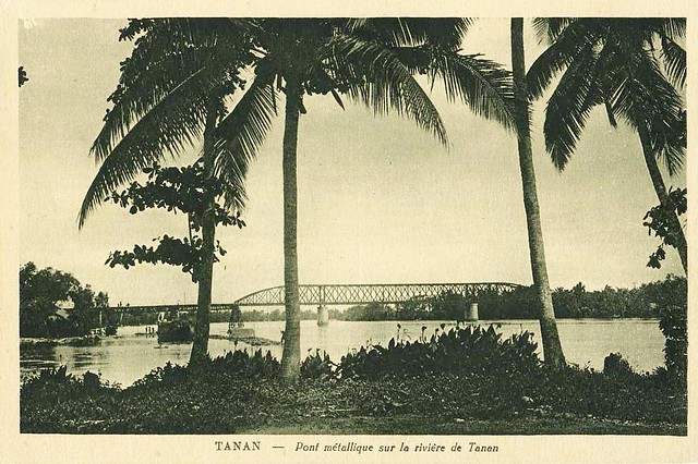 TANAN - Pont Métallique sur la rivière de Tanan - Cầu Tân An, tỉnh Long An