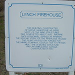 Lynch Firehouse Marker