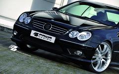Prior Design Mercedes-Benz W209 CLK 430 55 AMG aerodynamic kit front rear sides