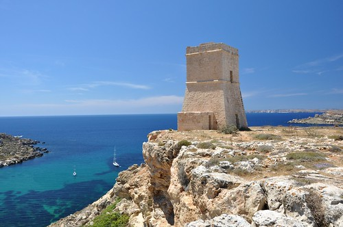sea tower mediterranean watch malta coastal knights fortification siege watchtower morze hospitaller orderofstjohn lascaris śródziemne talippija