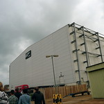 007 Stage at Pinewood studios - exterior