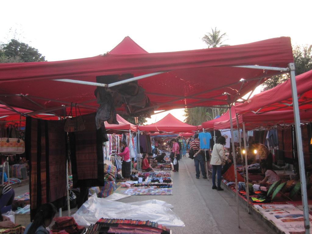 Night Market - Laos