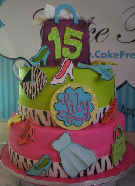 Shopping Birthday Cake
