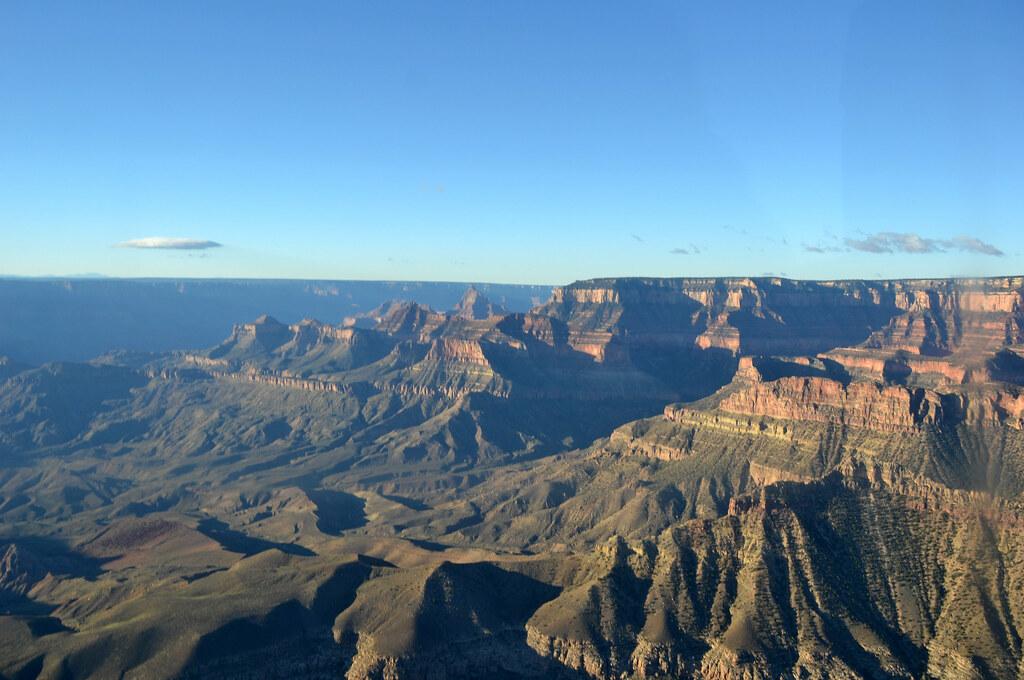 Grand Canyon DEIS Aerial: Cape Final on North Rim