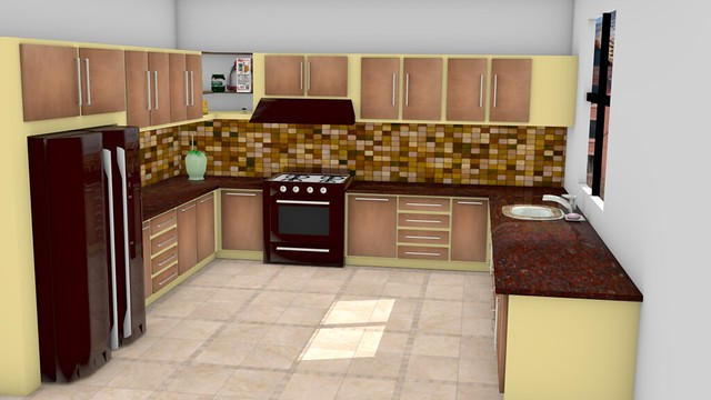 kitchen finished ...