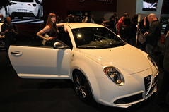 automobile, alfa romeo, exhibition, wheel, vehicle, automotive design, auto show, city car, alfa romeo mito, land vehicle, coupã©, sports car,