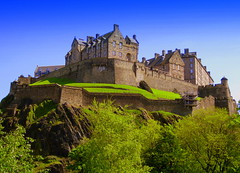 UK, Scotland. Edinburgh Castle