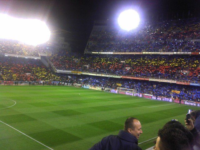Stadiums of Spain - Mosaico Valencia CF - FC Barcelona