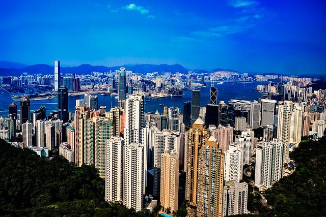 Overlooking Hong Kong