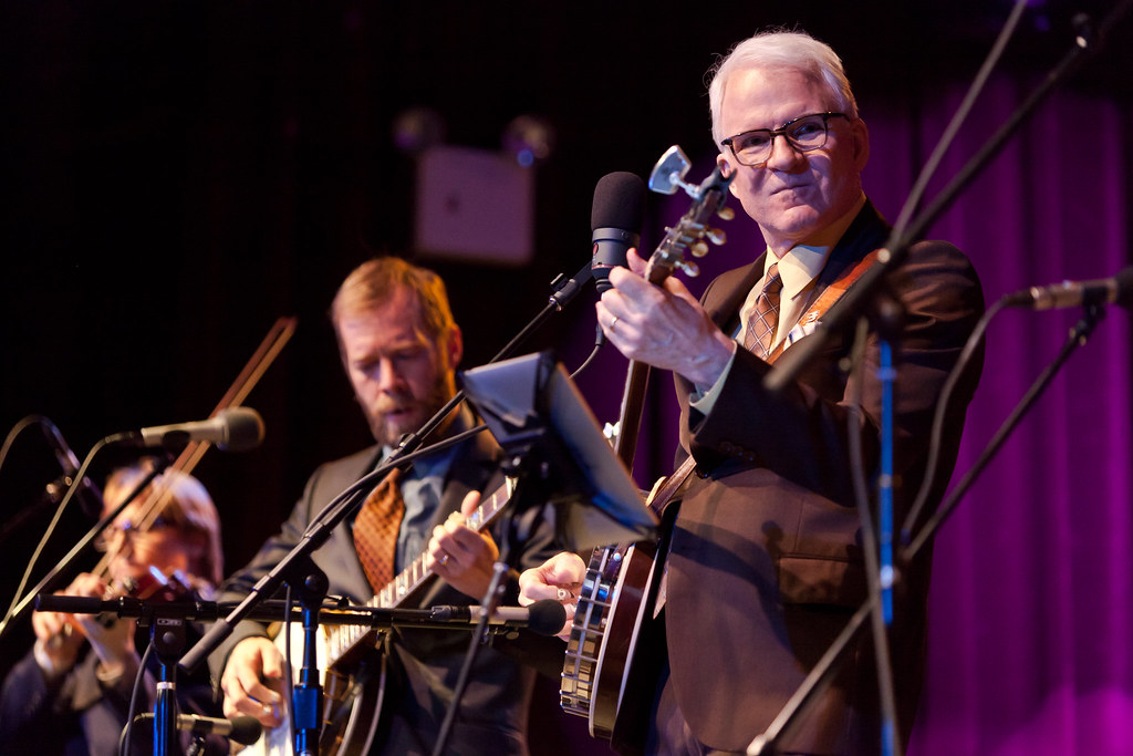 Steve Martin at the Highline Ballroom (史提夫·馬丁)