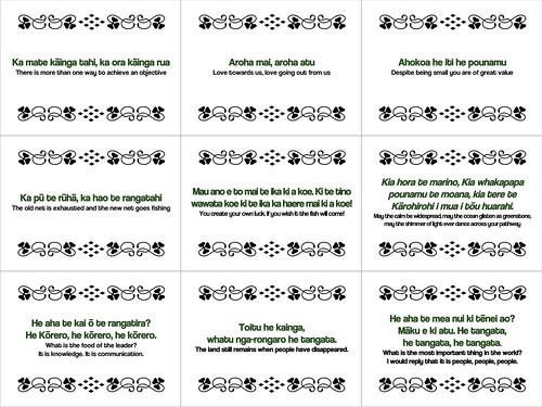 Maori Proverbs #freeposter
