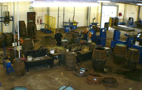 Cooperage at Balvenie Distillery