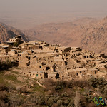 View of Dana Village in the Early Morning - Jordan
