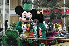 St. Patrick's Day 2011 - Disneyland Paris