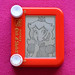 Princess Peach etch a sketch by Princess Etch a Sketch