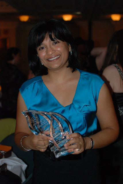 ARRC 2011: Nalini Singh with her award bling