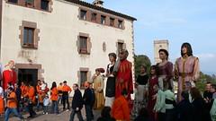 300 anys de Puiggraciós: Trobada de gegants