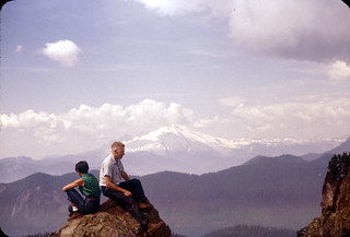 Mt. Baker from Sauk Mountain, 1956