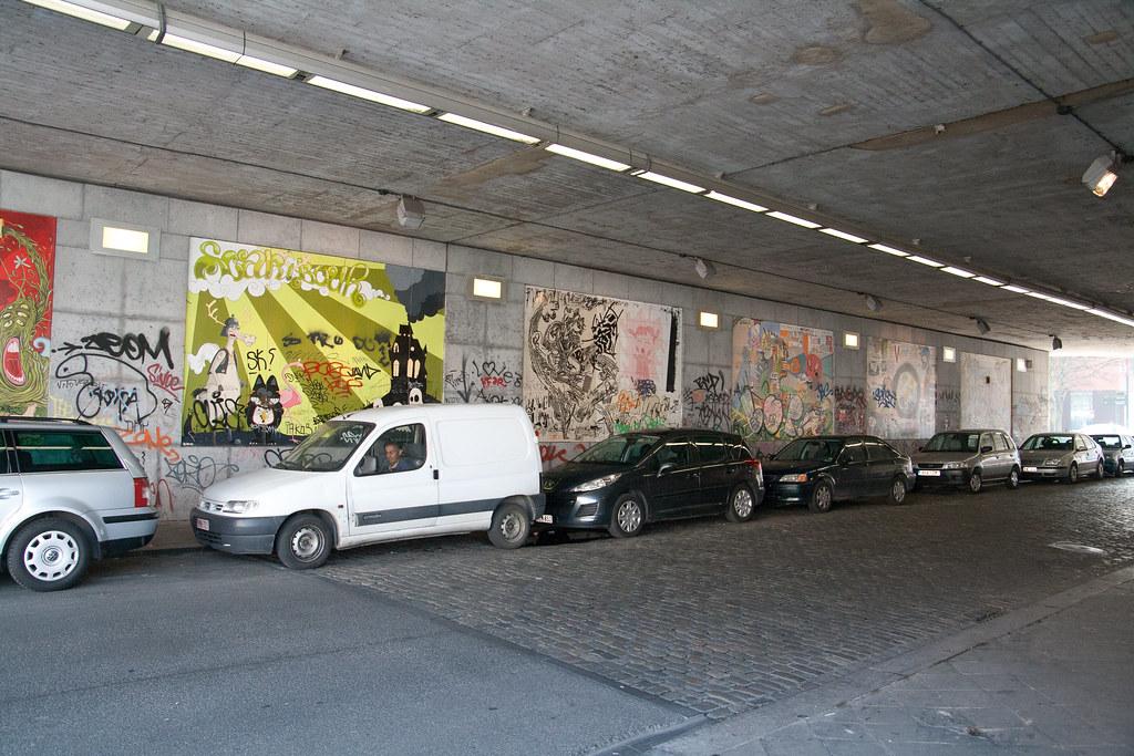 Comic strips in Brussels