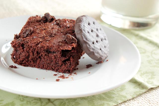 Thin Mint Brownies   Flickr - Photo Sharing!