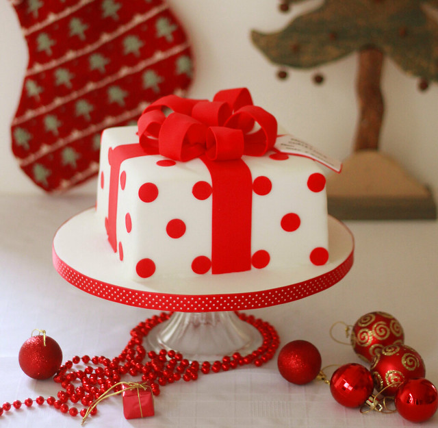Christmas Cake Decoration Present : Christmas Present Cake Flickr - Photo Sharing!
