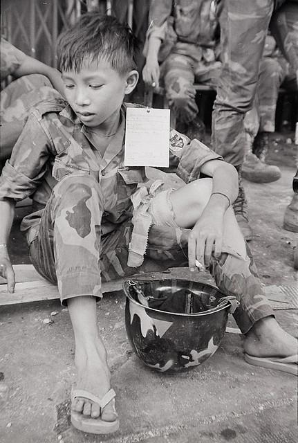 15 Year Old Vietnamese Ranger - TẠ THÁI MẠNH, lính BĐQ 15 tuổi