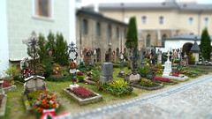 Salzburg ST Peters Abbey And Cemetery Tiltshift